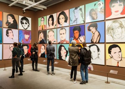 muestra andy warhol whitney museum