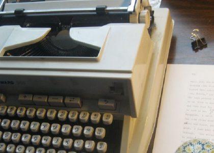 máquina de escribir de stephen dixon