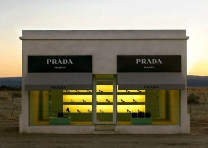 Elmgreen & Dragset, Prada Marfa, 2005