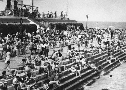 balneario municipal, buenos aires, 1965