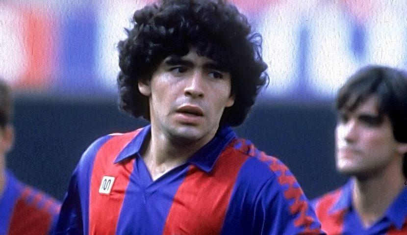 Una temporada de incomodidad. Los años de Maradona en Cataluña